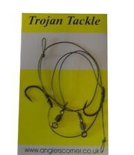 Trojan Hair Rigs (2 Pk) Taille 4 sans Ardillon / Pêche à la Carpe