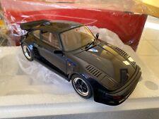 Porsche 911 930 Flat Nose 1/18 Gt Spirit Blue Gt028