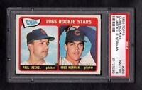 1965 TOPPS #386 CUBS ROOKIE STARS PSA 8 NM/MT SHARP!