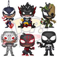 Official Venomized Avengers Spider-Man Venom Marvel Funko Pop Vinyl Figures