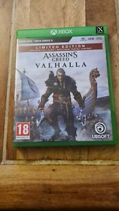 Assassins creed Valhalla limited edition xbox serie x