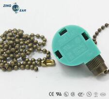 ZE-268S6 3 Speed 4 Wire Ceiling Fan Switch For Hunter Harbor Breeze Hampton Bay