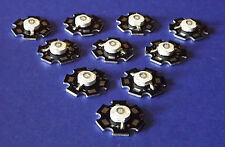 10 X  3W 365nm UV POWER  LED on HEATSINK Kühlkörper Emitter  Ultra Violet 5mm