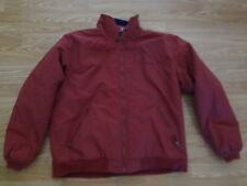 LL Bean Mens Winter XL Regular Maroon Jacket Polartec