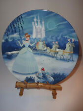 Walt Disney Cinderella 1st in Treasured Moments series Knowles Collector's Plate