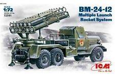 ICM 72591 1/72 BM-24-12 Multiple Launch Rocket System