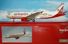 Herpa Wings 1:200 airbus a320 airberlin/etihad D-abdu moving forward 556569