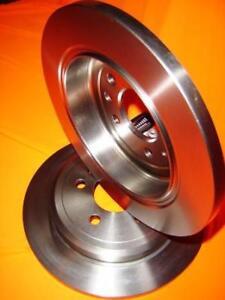 Peugeot 405 1.9L Diesel 8/1992-10/1995 REAR Disc brake Rotors DR12056 PAIR