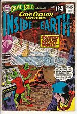 Brave and Bold #41VG/VG- Cave Carson Inside Earth