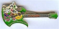 Hard Rock Cafe BANGKOK 2001 Songkran Festival GUITAR PIN - HRC Catalog #912