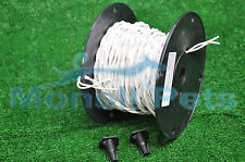 18 Gauge Twisted Wire  for Underground  In-Ground  Electric Dog Fence 100 ft