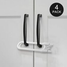 Sliding Cabinet Locks Baby Safety Locks Childproof Latch U Shaped 4-pack