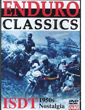 ENDURO CLASSICS ISDT 1951/52/54 DVD. JEFF SMITH, EDDIE DOW. 124 Mins. DUKE 1188N