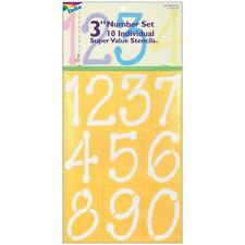 """Delta Stencil Mania - Just Numbers 3"""" Number Set"""