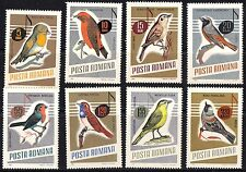 Romania 1966 Song Birds Complete Set of Stamps MNH
