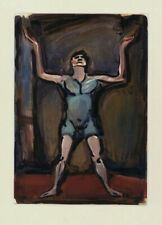 A very fine color aquatint etching by Georges Rouault 1930