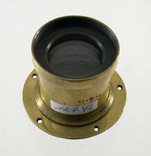 Brass lens Phos Varsovie Aplanat No. 2 8/240 240 240mm F8 Messing Objektiv /18