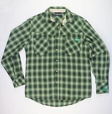 THE HUNDREDS FLANNEL BUTTON FRONT M - Top