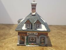 """O'Well Christmas Village Lighted House """"Drug Store"""" FREE SHIPPING!!!!"""