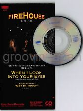 """FIREHOUSE When I Look Into Your Eyes JAPAN 3"""" CD SINGLE ESDA7110 Unsnapped FreeS"""