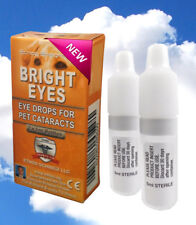 ~~Ethos Bright Eyes for Dogs & Pets Ethos NAC Cataract Eye Drops One Box 10ml ~~
