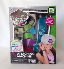 STYLE SIX ATTACHING MACHINE BY JAKKS PACIFIC- BRAND NEW IN BOX