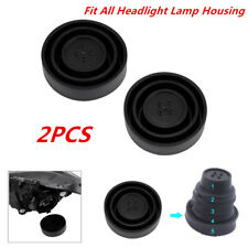 2X Universal Seal Cap Dust Moisture Cover 5Sizes For Car Headlight LED HID Lamp