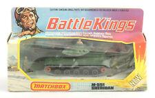Matchbox Lesney Battle Kings K-109 M-551 Sheridan Tank 1974 * BOXED *