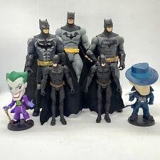 Dc Comics Batman 7 x Action Figure Bundle - Joker Bruce Wayne