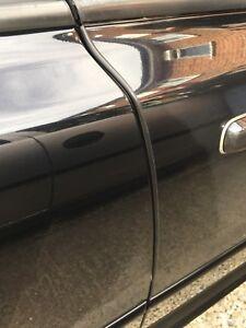1M Car Door Edge Guard Protector BLACK U Profile Roll Moulding Trim Strip UK
