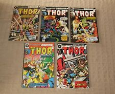 Vintage Heritage French Comics Book Thor # 39-40-41-42-44 / 1974 Free Shipping
