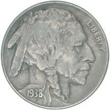 1938 D Buffalo Nickel Very Fine VF