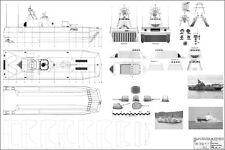 SKJOLD. Flugkörperschnellboot M 1/87 (HO). Modellbauplan