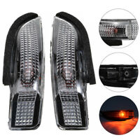 Pair Side Mirror Turn Signal Light Indicator fit for Toyota Camry Corolla