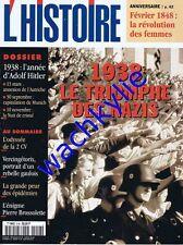 L'histoire n°218 - 02/1998 Anschluss Munich 2CV Brossolette Vercingétorix