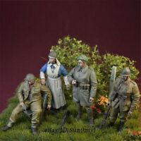 1/35 WWII Belgian Army Soldiers Resin Kits Unpainted Figure Model GK