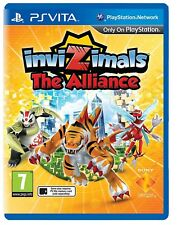 Invizimals L'alliance Ps Vita Flambant Neuf Scellé