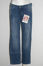 "Must-Have Hüft-Jeans-Röhre blue used Kurz-Gr. 21 (42) ""AJC""  NEU"