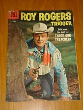 ROY ROGERS AND TRIGGER #113 VG (4.0) 1957 DELL WESTERN COMIC B