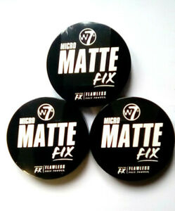 W7 MICRO MATTE FIX SPECIAL FX FLAWLESS FACE POWDER choose a shade