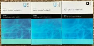 M343 Applications of Probability Open University Books 1,2 and 3