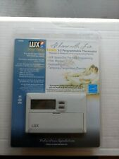 LUX TX500E Smart Temp 5-2 Programmable Digital Thermostat New Opened Pkg Unused