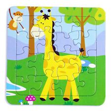 Development Baby Toys 3D Paper Puzzle Cartoon Learning Educational Kids Toy