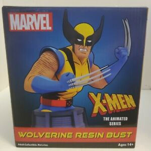 Diamond Select Marvel Animated X-Men Wolverine Bust NEW 2100 / 3000