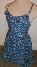 Hollister women's sundress Size XS Extra Small blue floral brand name
