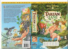 TARZAN E JANE (2002) vhs ex noleggio