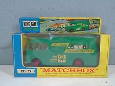 Matchbox K5 Racing Car Transporter King Size Lesney in ORIGINAL BOX - BP Petrol