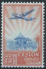 Mint Hinged George VI (1936-1952) Ceylon Stamps