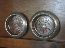 Frank M. Whiting & Co. Sterling Silver Rim Ashtray/Coaster