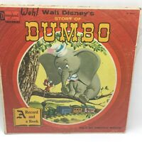 Disneyland Story of Dumbo Told by Timothy Mouse Record and Book Variant Cover